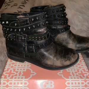 GB studded booties